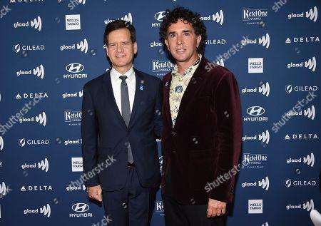 Brad Hoylman, David Ivan Sigal. New York State Sen. Brad Hoylman and husband David Ivan Sigal attend the 30th annual GLAAD Media Awards at the New York Hilton Midtown, in New York