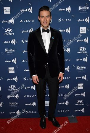 Raymond Braun attends the 30th annual GLAAD Media Awards at the New York Hilton Midtown, in New York