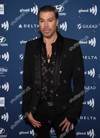 Chaz Dean attends the 30th annual GLAAD Media Awards at the New York Hilton Midtown, in New York