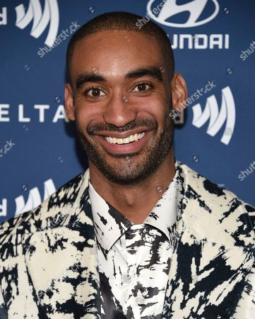 Zeke Thomas attends the 30th annual GLAAD Media Awards at the New York Hilton Midtown, in New York