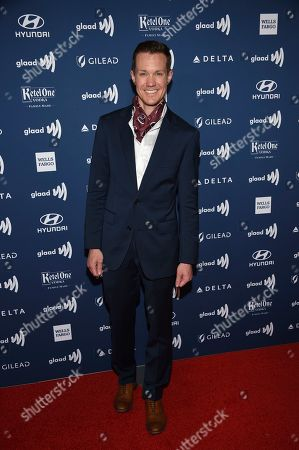 Chris Mosier attends the 30th annual GLAAD Media Awards at the New York Hilton Midtown, in New York
