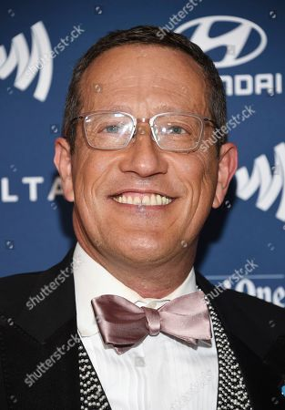 CNN International anchor Richard Quest attends the 30th annual GLAAD Media Awards at the New York Hilton Midtown, in New York