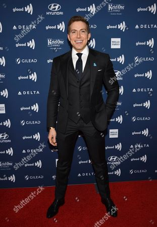 Stock Picture of Baruch Shemtov attends the 30th annual GLAAD Media Awards at the New York Hilton Midtown, in New York