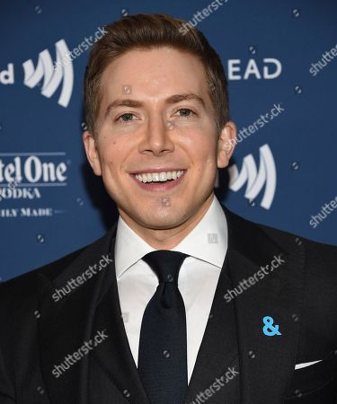 Stock Photo of Baruch Shemtov attends the 30th annual GLAAD Media Awards at the New York Hilton Midtown, in New York