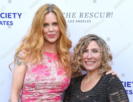 Kristin Bauer van Straten and Kitty Block