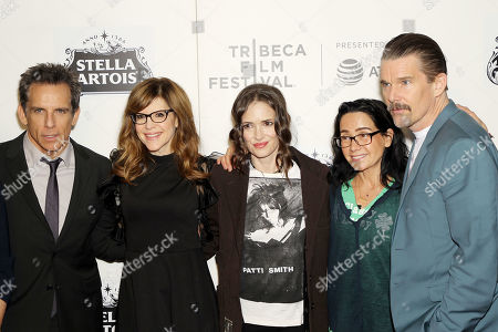 Stock Image of Ben Stiller, Lisa Loeb, Winona Ryder, Janeane Garofalo and Ethan Hawke