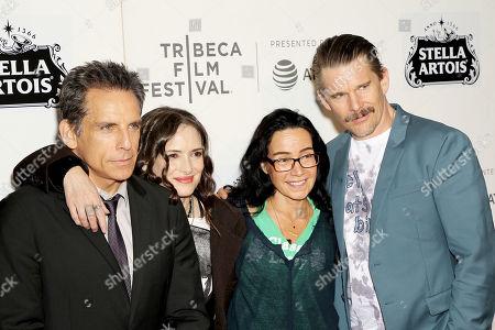Stock Image of Ben Stiller, Winona Ryder, Janeane Garofalo and Ethan Hawke