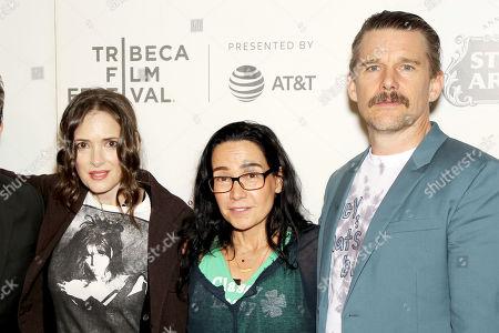 Stock Photo of Ben Stiller, Winona Ryder, Janeane Garofalo and Ethan Hawke