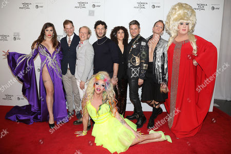 Stock Photo of Charlene Incarnate, Todd Lubin, Bruce Cohen, Willam Belli, Chris Moukarbel (Director; Wig), David Burtka, Neil Patrick Harris and Lady Bunny