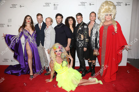 Charlene Incarnate, Todd Lubin, Bruce Cohen, Willam Belli, Chris Moukarbel (Director; Wig), David Burtka, Neil Patrick Harris and Lady Bunny
