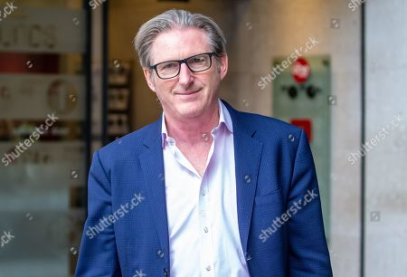 Stock Photo of Actor, Adrian Dunbar, from the BBC Show 'Line of Duty' leaves the BBC after appearing on 'The Andrew Marr Show'.