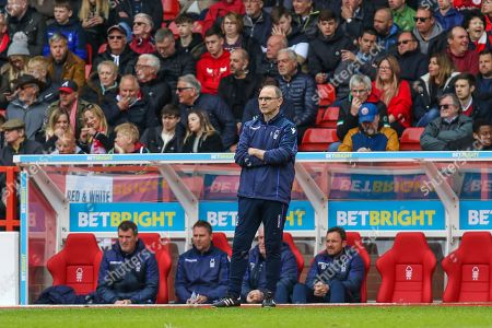 Martin O'Neill watches play during the EFL Sky Bet Championship match between Nottingham Forest and Bolton Wanderers at the City Ground, Nottingham