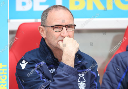 Nottingham Forest Manager Martin O'Neill