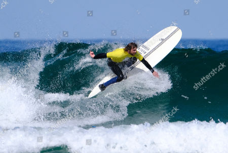 Editorial picture of English National Surfing Championships, Perranporth, UK - 05 May 2019