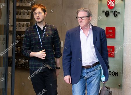 Stock Image of Actor, Adrian Dunbar, from the BBC Show 'Line of Duty' leaves the BBC after appearing on 'The Andrew Marr Show'.