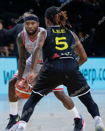 Editorial picture of Basketball Final Four Champions League, Antwerp, Belgium - 05 May 2019