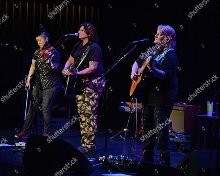 Editorial image of Indigo Girls in concert, The Parker Playhouse, Fort Lauderdale, Florida, USA - 04 May 2019