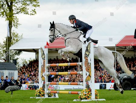 Oliver Townend just missing out in the Show Jumping on 'Ballaghmor Class' to come second in the Mitsubish Motors Badminton Horse Trials.