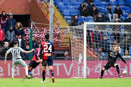 Editorial photo of CFC Genoa vs AS Roma, Italy - 05 May 2019
