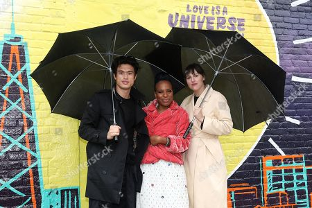Charles Melton, Author Nicola Yoon and Director Ry Russo-Young