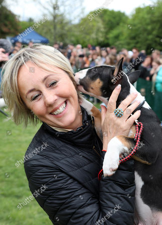 Editorial picture of Stars turn out to judge the All Dogs Matter Bark Off charity dog show, Hampstead Heath, London, UK - 05 May 2019