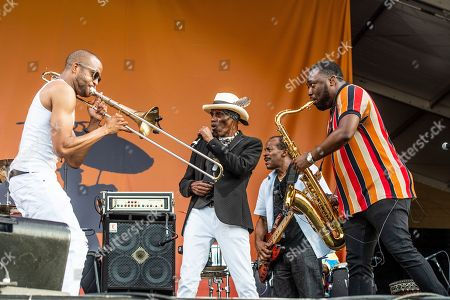 Editorial photo of 2019 Jazz and Heritage Festival - Weekend 2 - Day 4, New Orleans, USA - 05 May 2019