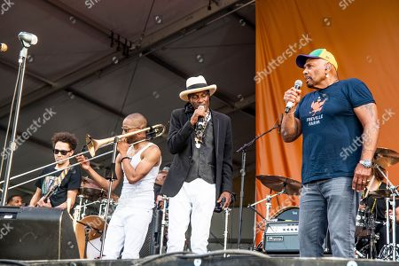Editorial picture of 2019 Jazz and Heritage Festival - Weekend 2 - Day 4, New Orleans, USA - 05 May 2019