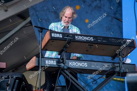 Bill Payne of Little Feat performs at the New Orleans Jazz and Heritage Festival, in New Orleans
