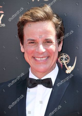 Stock Photo of Christian LeBlanc arrives at the 46th annual Daytime Emmy Awards at the Pasadena Civic Center, in Pasadena, Calif