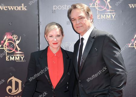 Cady McClain, Jon Lindstrom. Cady McClain, left, and Jon Lindstrom arrive at the 46th annual Daytime Emmy Awards at the Pasadena Civic Center, in Pasadena, Calif