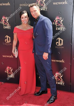 Lisa Kouchak, Eric Martsolf. Lisa Kouchak, left, and Eric Martsolf arrive at the 46th annual Daytime Emmy Awards at the Pasadena Civic Center, in Pasadena, Calif