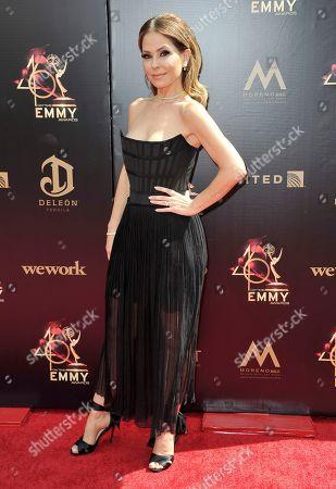 Lisa LoCicero arrives at the 46th annual Daytime Emmy Awards at the Pasadena Civic Center, in Pasadena, Calif