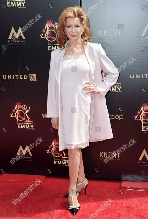 Suzanne Rogers arrives at the 46th annual Daytime Emmy Awards at the Pasadena Civic Center, in Pasadena, Calif