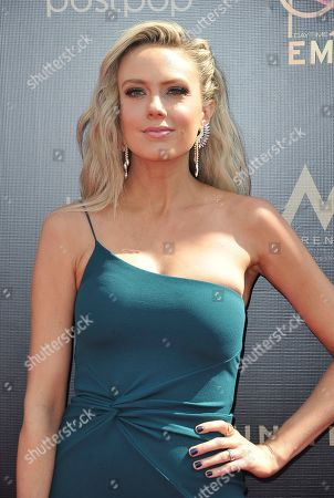 Melissa Ordway arrives at the 46th annual Daytime Emmy Awards at the Pasadena Civic Center, in Pasadena, Calif
