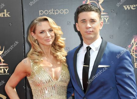 Gina Comparetto, Billy Flynn. Gina Comparetto, left, and Billy Flynn arrive at the 46th annual Daytime Emmy Awards at the Pasadena Civic Center, in Pasadena, Calif