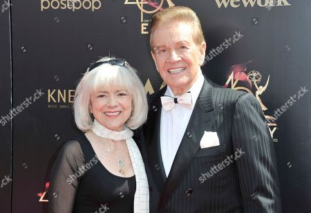 Sandy Ferra Martindale, Wink Martindale. Sandy Ferra Martindale, left and Wink Martindale arrive at the 46th annual Daytime Emmy Awards at the Pasadena Civic Center, in Pasadena, Calif