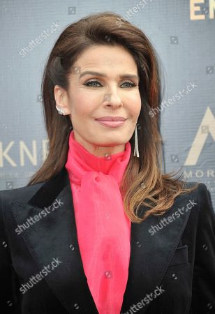 Kristian Alfonso arrives at the 46th annual Daytime Emmy Awards at the Pasadena Civic Center, in Pasadena, Calif