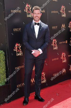 Jesse Palmer arrives at the 46th annual Daytime Emmy Awards at the Pasadena Civic Center, in Pasadena, Calif