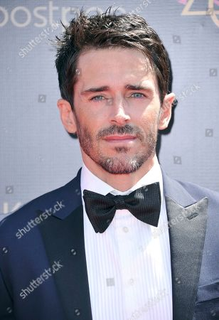 Stock Picture of Brandon Beemer arrives at the 46th annual Daytime Emmy Awards at the Pasadena Civic Center, in Pasadena, Calif