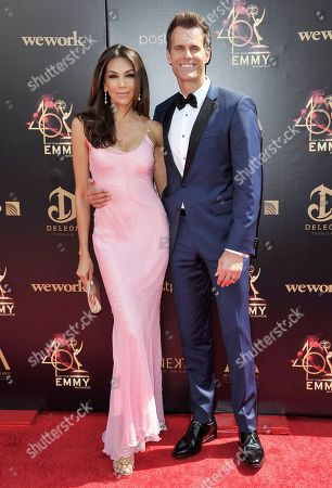 Vanessa Arevalo, Cameron Mathison. Vanessa Arevalo, left, and Cameron Mathison arrive at the 46th annual Daytime Emmy Awards at the Pasadena Civic Center, in Pasadena, Calif