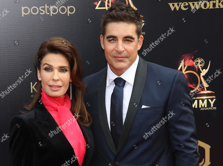 Kristian Alfonso and Galen Gering