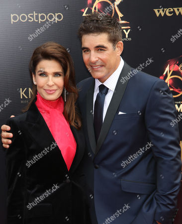 Stock Image of Kristian Alfonso and Galen Gering