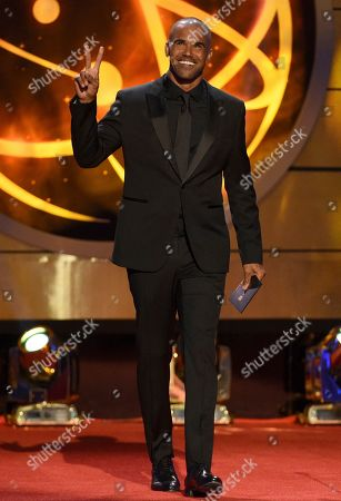 Shemar Moore presents the award for outstanding drama series at the 46th annual Daytime Emmy Awards at the Pasadena Civic Center, in Pasadena, Calif