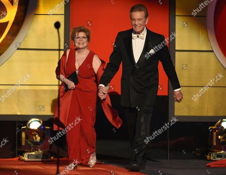 Anita Gillette, Wink Martindale. Anita Gillette, left, and Wink Martindale present the award for outstanding game show at the 46th annual Daytime Emmy Awards at the Pasadena Civic Center, in Pasadena, Calif
