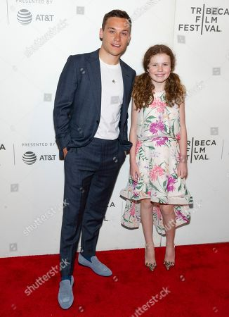 Finn Cole and Darby Camp