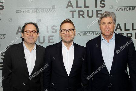 Michael Barker, (Co-Pres. SPC), Sir Kenneth Branagh (Director,Writer,Actor) and Tom Bernard (Co-Pres. SPC)