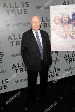 Stock Photo of Lord Julian Fellowes