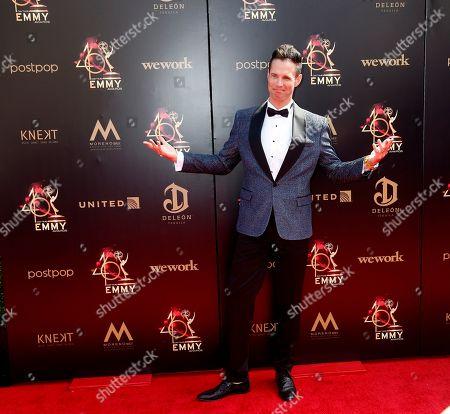Stock Image of David Osmond arrives at the 46th annual Daytime Emmy Awards at the Pasadena Civic Center in Pasadena, California, USA, 05 May 2019.