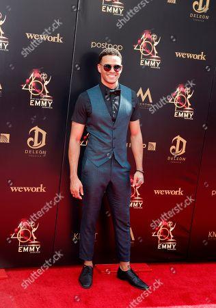 Kyler Pettis arrives at the 46th annual Daytime Emmy Awards at the Pasadena Civic Center in Pasadena, California, USA, 05 May 2019.