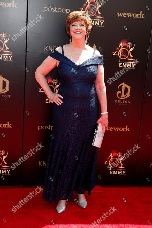 Patricia Bethune arrives at the 46th annual Daytime Emmy Awards at the Pasadena Civic Center in Pasadena, California, USA, 05 May 2019.